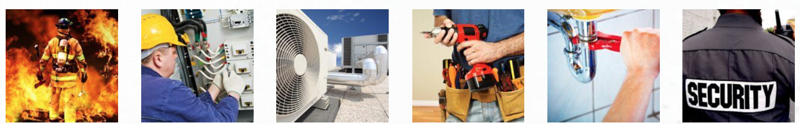 Field Service for Fire Safety, HVAC, Security, Maintenance