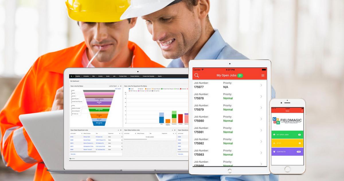 Did you know you can configure your own reporting in Fieldmagic?
