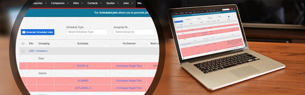 Maintenance Scheduling Software