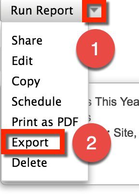 Exporting to CSV for Excel Editing