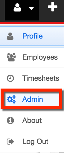 Access Admin Section